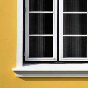 欧風輸入住宅の窓