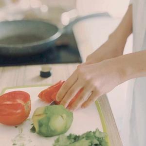 輸入住宅キッチン料理する人