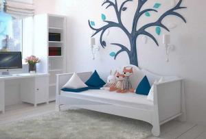輸入住宅子ども部屋