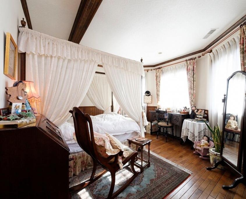 石橋工務店の輸入住宅施工事例5寝室